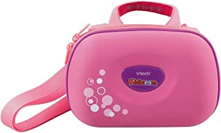 VTech 伟易达 Kidizoom 相机包| 儿童便携式硬包| 儿童数码相机配件 适用于3, 4, 5岁以上的儿童,粉红色