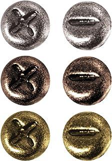 Tim Holtz Idea-ology金属迷你紧固件,每包 99 个,0.64 cm,仿古饰面,TH92790