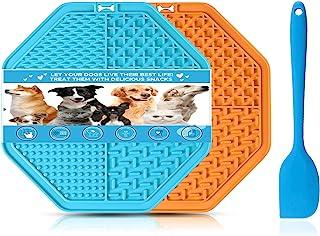 狗舔垫慢喂食器 - Couwilson 宠物智商*垫,减轻无聊和*,2 件大号狗/猫舔垫,适用于洗澡、*和训练,*玩具*垫,Snuffle Mat