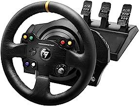 Thrustmaster 图马思特 TX Racing Wheel Leather Edition – Force Feedback 赛车模拟器,适用于 Xbox One和PC – 适用于 Xbox Series X|S