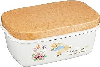 Asahi 彼得兔 珐琅黄油盒(木盖) PR-0303