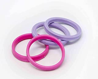DeColorDulce sg1617 橡皮筋滚筒小号,粉色,6 x 4 x 1 厘米