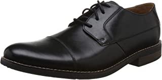 Clarks 男士 Becken Cap 德比鞋