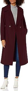 Nine West Outerwear 女式 43 英寸(约 109.2 厘米)经典 Db 长羊毛大衣