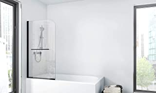 MARWELL BWF185 工厂浴缸壁,哑光黑色
