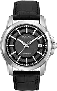 Bulova 男士 96B158 Precisionist 皮表带手表