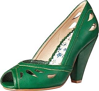 Bettie Page 女式尖头鞋,复古,复古高跟鞋