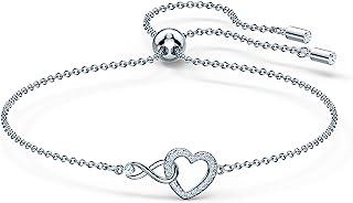 SWAROVSKI Infinity Heart Necklace