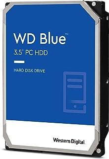 Western Digital 硬盤驅動器 6TB WD Blue PC 3.5英寸(約8.89厘米) 內置HDD WD60EZAZ-RT