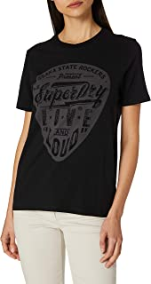 Superdry 极度干燥 女士 Backstage Black Out T 恤
