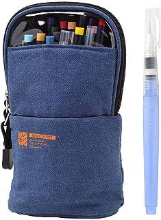 "AKASHIYA 彩色笔 水彩毛笔""彩""素描套装 含水笔 CA551S-DE 牛仔布"