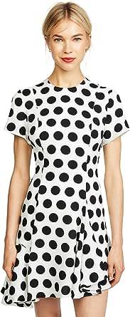 C/Meo Collective 女式无袖圆领迷你连衣裙