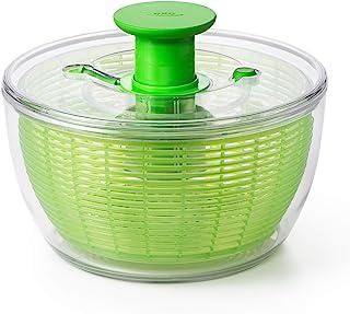 OXO 奥秀 水果蔬菜甩水器 防溅油脱水机甩干家用 绿色