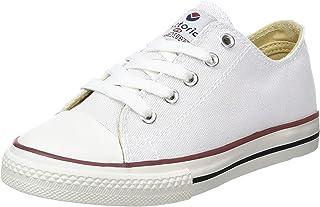 维多利亚男女皆宜的儿童 zapato Basket 汽车 Clave 平, 白色