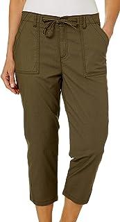 LEE 女式常规版型实用下摆七分裤