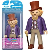 Funko Playmobil: Willy Wonka - Willy Wonka 乙烯树脂人偶