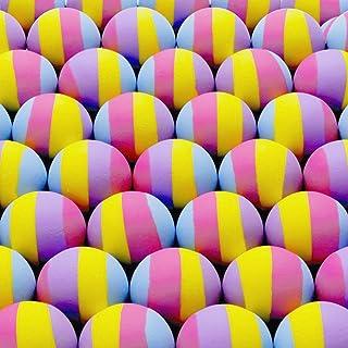 Entervending 弹跳球散装 32mm 1.26 英寸 - 多色儿童弹跳球 - 开价机器玩具,50 件