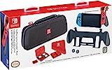Nintendo 任天堂 Switch GoPlay 游戲旅行者配件包,隨附手機套、手柄支架、清潔布和多種游戲包