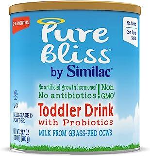 Abbott 雅培 Similac Pure Bliss 铂优恩美力 幼儿益生元奶粉,以草食奶牛的新鲜牛奶开始,Non-GMO幼儿成分,24.7盎司,700克