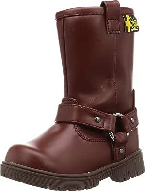 MoonStar 月星 防水 防寒 靴子 带拉链 带钉鞋 17~24厘米 儿童 SG WPJ68SP