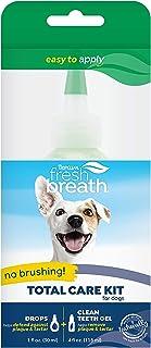 TropiClean 清新口气宠物免刷口腔护理凝胶,美国制造 透明 4盎司
