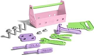 Green Toys 工具套装,粉色 24 months to 72 months 封闭盒 标准 多种颜色