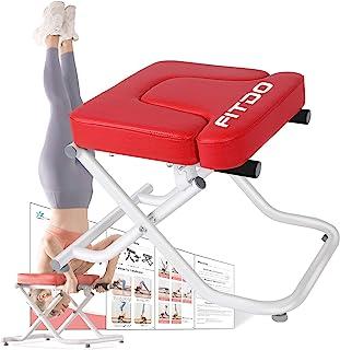 FITDO 瑜伽头架长椅,支架瑜伽椅可*轻松地倒转,塑造身体并缓解*.....