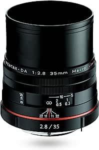 PENTAX Limited 镜头 标准定焦微距镜头 HD PENTAX-DA35mmF2.8 Macro Limited K卡口 APS-C尺寸