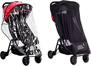 Mountain buggy nano推车配件天气包(遮阳网罩和雨罩)