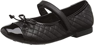 Geox 女童 Jr Plie' L 芭蕾平底鞋