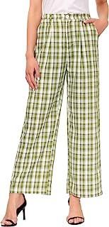 GRACE KARIN 女式中腰抽绳长裤,带口袋纸袋