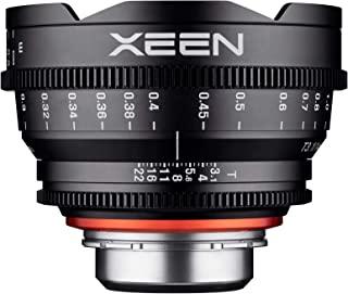 Xeen 15014T3.1M T3.1 Cine 镜头 MFT 接口 14 毫米 黑色