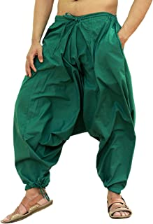 sarjana 手工艺品男式棉质哈伦 yoga 宽松 Genie 波西米亚风裤子