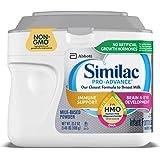 Abbott 雅培 Similac 铂优恩美力 Pro-Advance 含铁的婴幼儿奶粉,带有2'-FL HMO,有益于…