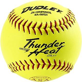 Dudley 4A144R6 雷霆垒球,ASA,11 英寸,6 只装 - 数量 1