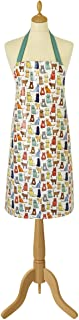 Ulster Weavers 欧司特薇万 漫步猫咪PVC 围裙厨房清洁围裙可调节防水围裙 600CWK灰绿色