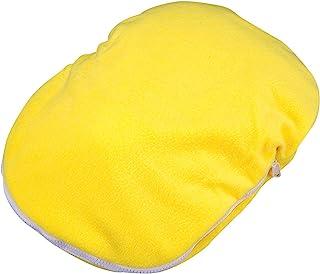珍珠金属 热水袋盖子 椭圆形 花边 黄色 MK-2245