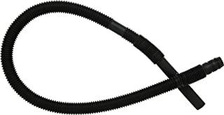 GE WH41X10096 Washing machine corrugated drain hose, Black
