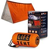 Go Time Gear Life 帐篷应急救生棚 - 2 人紧急帐篷 - 用作生存帐篷、紧急收容器、管帐篷、生存防水布…