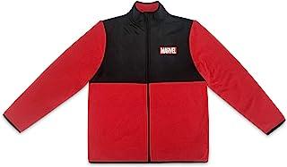 Marvel 男式抓绒拼接夹克