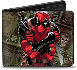 Buckle-Down Marvel Universe Wallet Deadpool 2012#5 Revenge Of The Gip Accessory 多色 One Size