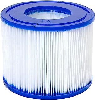Lay-Z-Spa 热水浴缸过滤器盒 VI 适用于所有 Lay-Z-Spa 型号 - 1 x 双包装(2 个过滤器)