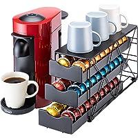 Flagship for Nespresso 咖啡胶囊支架抽屉 3 层咖啡胶囊支架,适用于 Nespresso Vert…
