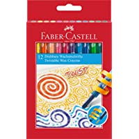 Faber-Castell 120003 旋转蜡笔(12 支装)