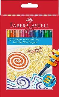 Faber-Castell 120003 旋轉蠟筆(12 支裝)