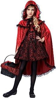 豪华红色 riding 罩服装儿童