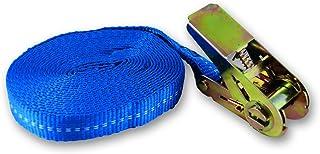 Chapuis gab10 聚丙烯带棘轮松紧带*大用户,25 mm/5 m,蓝色