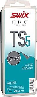 TS05-18 - *速度蜡 - TS5 蓝* - 0 至 22 ℉ - 180 克棒 - 无氟 - 滑雪或滑雪板 - FIS 认证