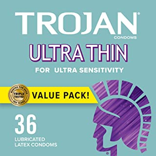Trojan 超薄避孕套 灵敏,36 个*1 包