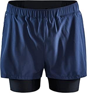 Craft 男士 Advance Essence 2 合 1 弹力短裤